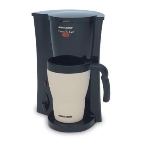 BLACK+DECKER Brew'n Go -Cup Coffee Maker