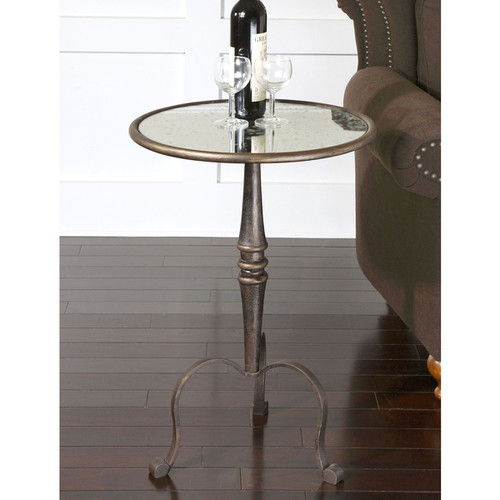 Uttermost Coffee, Console, Sofa & End Tables Uttermost Anais Coffee Bronze Accent Table