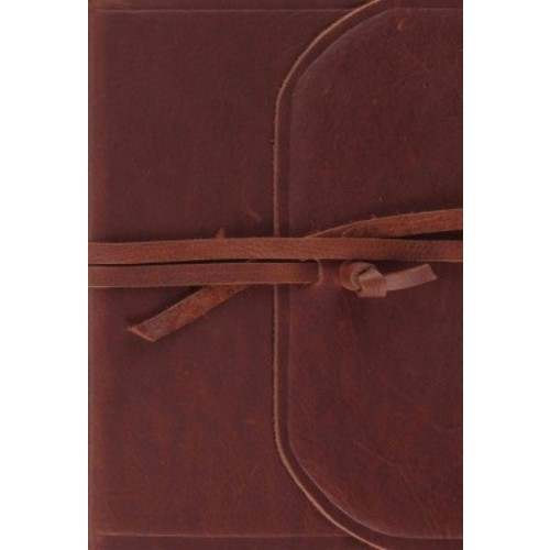 The Holy Bible: ESV Bible, Flap With Strap With Ribbon Marker (Paperback)