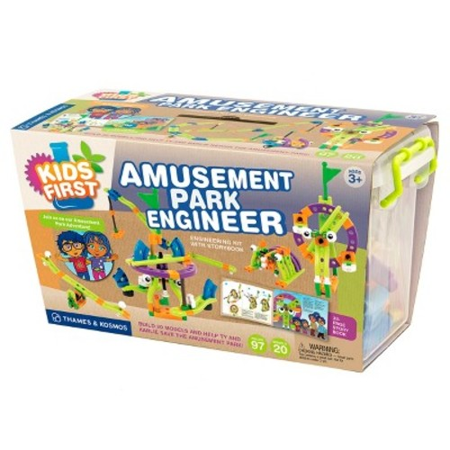 Thames and Kosmos Kids First Amusement Park Engineer Science Experiment Kit