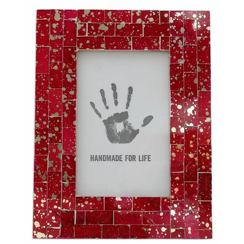 Ruby Picture Glass Mosaic Picture Frame