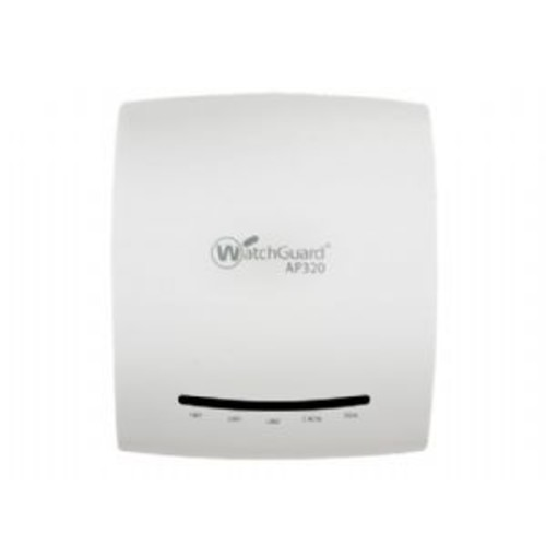 WatchGuard AP320 - Wireless access point - with 1 year Wi-Fi Cloud Subscription and Standard Support - 10Mb LAN, 100Mb LAN, GigE - 802.11a/b/g/n/ac - Dual Band