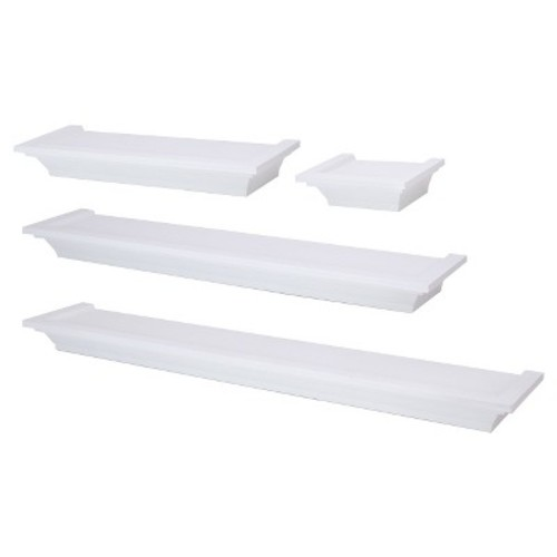 4 Piece Ledge Set - White