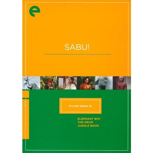 Sabu! [Criterion Collection] [3 Discs] [DVD]