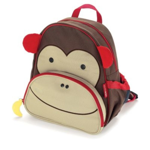SKIP*HOP Zoo Packs Little Kid Backpacks in Monkey
