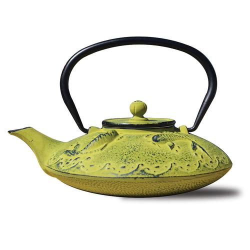 Dutch Cast-Iron Ogon Koi Teapot