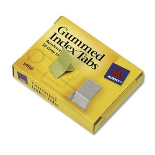 AVE59105 - Avery Gummed Index Tabs : Office Products