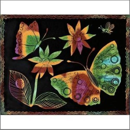 Melissa & Doug Multicolor Scratch-Art Paper, 8-1/2
