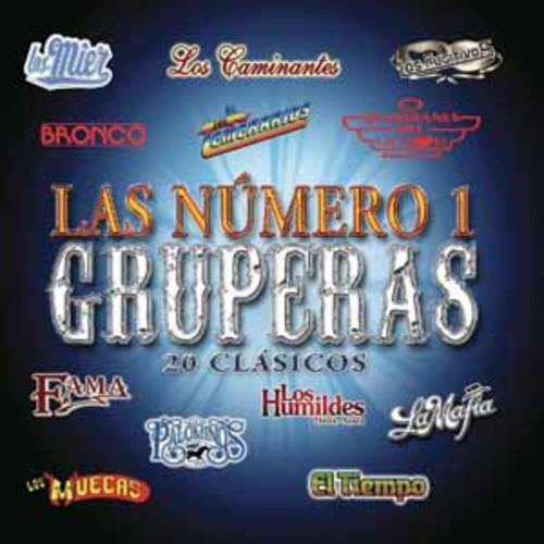 Numero 1 Gruperas: 20 Clasicos [Audio CD]
