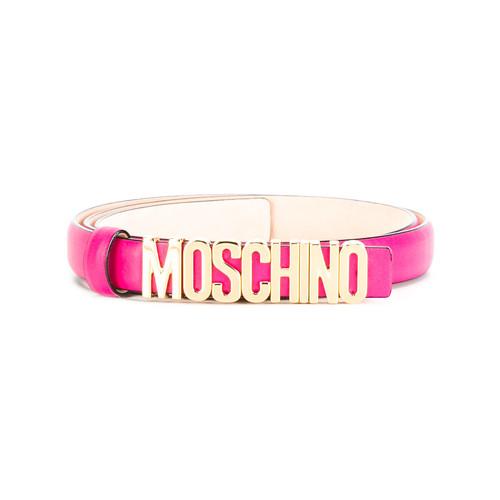 MOSCHINO Slim Logo Belt