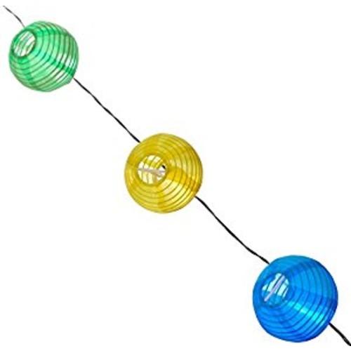 Smart Solar Light String, 20ct, Chinese Lanterns