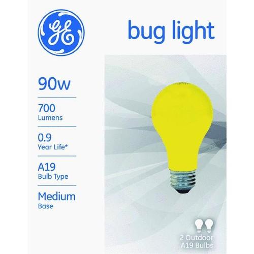 Satco A19 Incandescent Bug Light Bulb - S3939