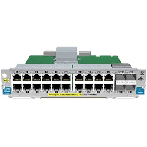 HP J9536A Expansion Module - 20 x 1000Base-T LAN - 2 x SFP+