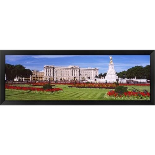 'Buckingham Palace, London, England' Framed Panoramic Photo