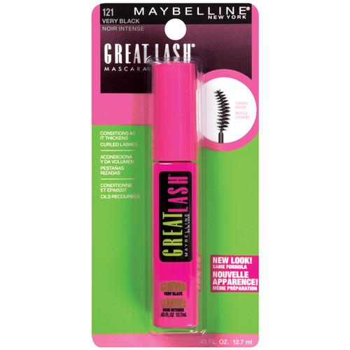 Great Lash Mascara Curved Brush Washable Mascara