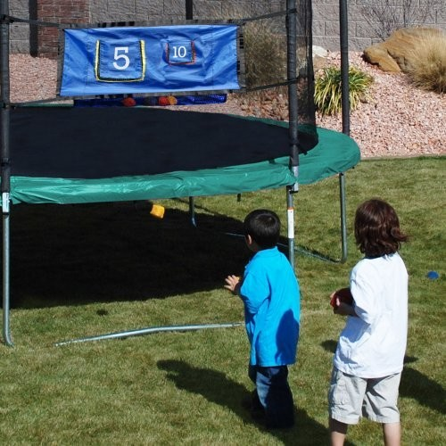 Skywalker Trampoline Accessory Game Kit with Ladder
