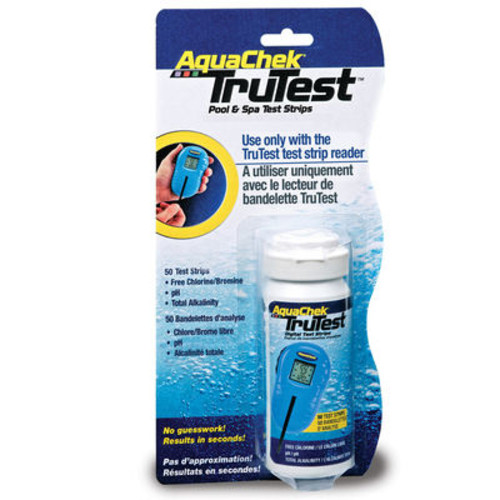 Aqua Chek Trutest Pool & Spa Water Test Strips - 50 Count