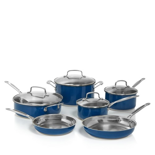 Stainless Steel Chef's Classic 10-Piece Cookware Set