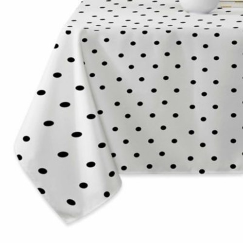 Deny Designs Tiny Dots Tablecloth in Black