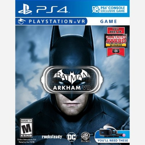Batman Arkham VR PRE-OWNED - PlayStation 4