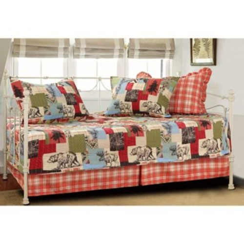 Rustic Lodge Daybed Quilt Set