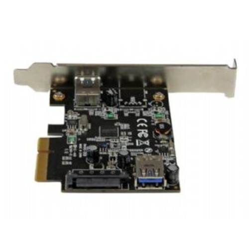 StarTech.com USB 3.1 (10Gbps) Card / USB-A, 1x External, 1x Internal / PCIe - USB adapter - PCIe x4 low profile - USB 3.1 x 2