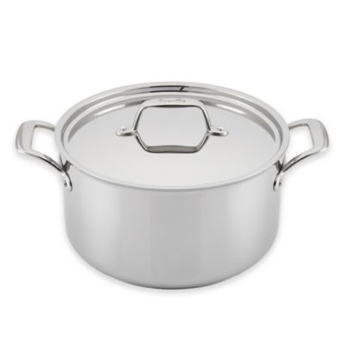 Breville Thermal Pro Clad Stainless Steel 8-Quart Covered Stock Pot