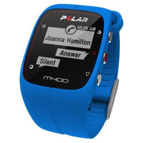Polar M400 GPS Smart Sports Watch, Blue - 90057187