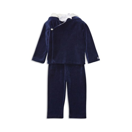 Boys' Pima Velour Hoodie & Pants Set - Baby