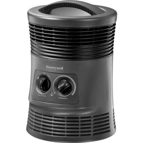 Honeywell - 360 Surround Fan-Forced Heater - Slate Gray