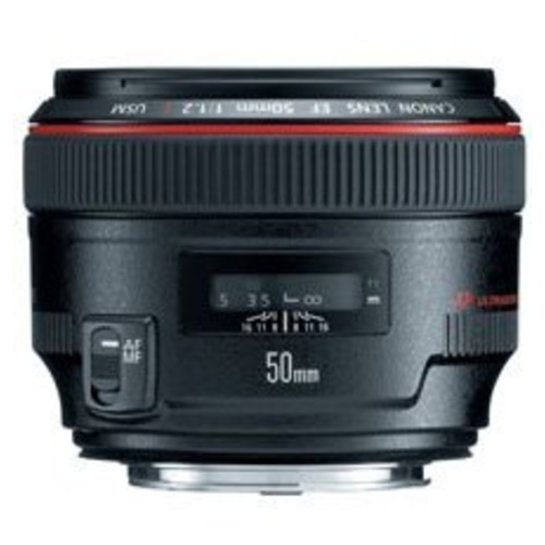 Canon EF 50mm f/1.2 L USM Lens for Canon Digital SLR Cameras - Fixed [Lens Only]