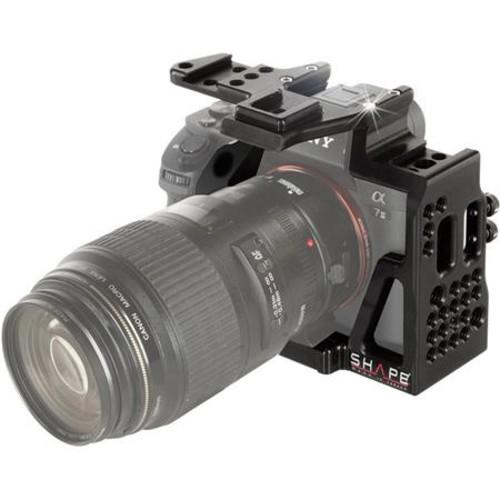 Shape Cage for Sony a7S II, a7R II, a7 II Digital Camera and XLR-K2M Audio Unit ALPCAGE