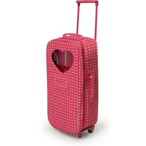 Badger Basket Trolley Doll Travel Case with Bed
