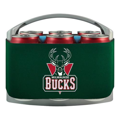 Milwaukee Bucks 6-Pack Cooler Holder