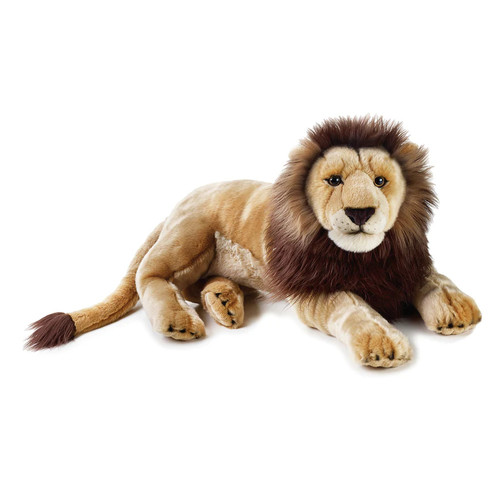 National Geographic Lion Plush by Lelly