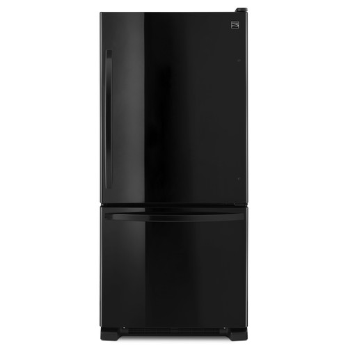 Kenmore 79319 19 cu. ft. Single Door Bottom Freezer - Black