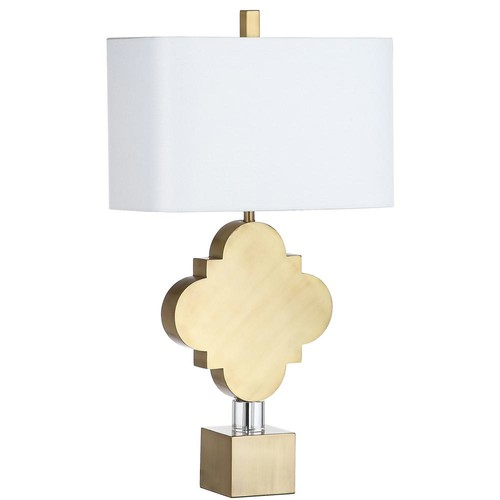 Safavieh Marina Trellis 31.5 in. Gold Table Lamp