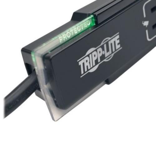 Tripp Lite Surge Protector Power Strip 6 Outlet Tel/Modem 6 ' Cord Black