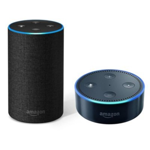 Amazon Echo (2nd Generation) with Echo Dot