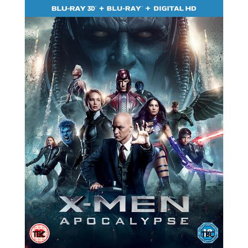 X-Men: Apocalypse 3D (Includes UV Copy) Blu-ray