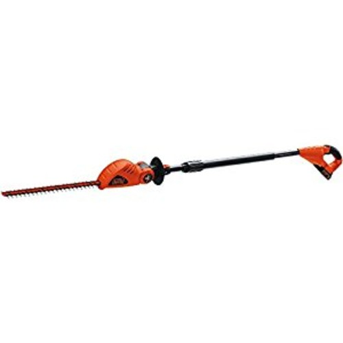 Black & Decker LPHT120 18-Inch 20-Volt Lithium-Ion Cordless Pole Hedge Trimmer [Includes 20v Battery]