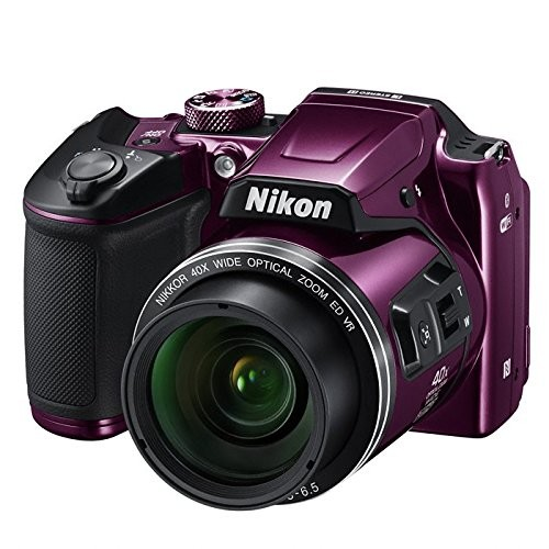 Coolpix B500 16.0-megapixel Digital Camera - Plum
