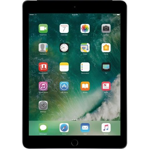 Apple - iPad (Latest Model) with WiFi + Cellular- 128GB - (AT&T) - Space Gray