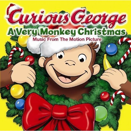 Curious George: A Very Monkey Christmas [CD]