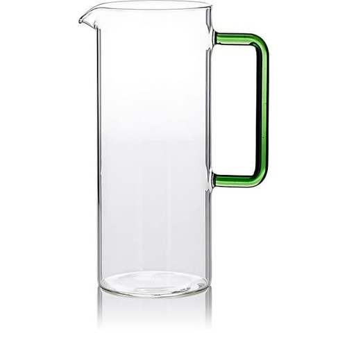 Ichendorf Tube Glass Pitcher