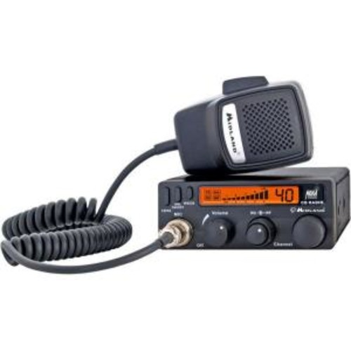 Midland 30-Mile 40 Channel Mobile CB Radio (1-Pack)
