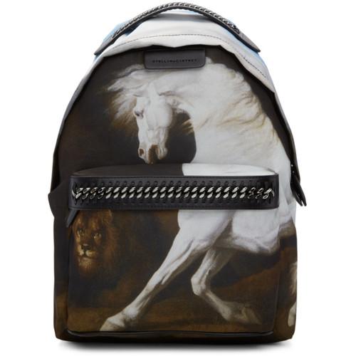 Black Medium Pegasus Falabella GO Backpack