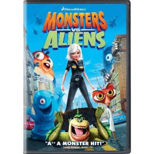 Monsters vs. Aliens (dvd_video)