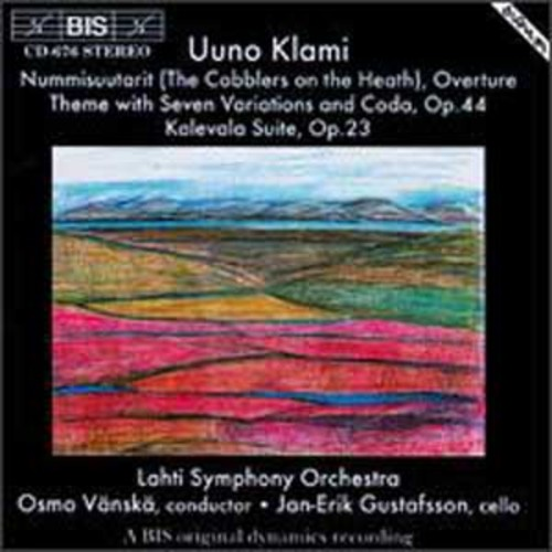 Uuno Klami: The Cobblers on the Heath, Overture; Theme with Seven Variations and Coda,Op 44; Kalevala Suite Op. 23 (Audio CD)