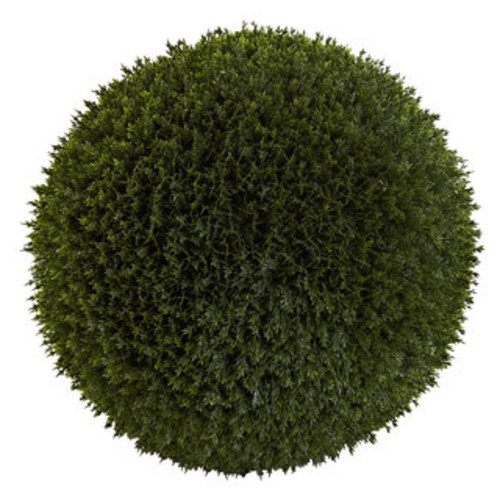 Nearly Natural Artificial Plants 14-inch Decorative Boxwood Ball